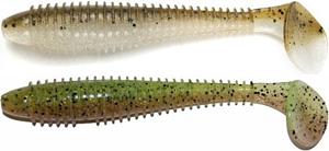 Keitech Swing Impact FAT swimbait minnows green-pumpkin shiner and male perch colors
